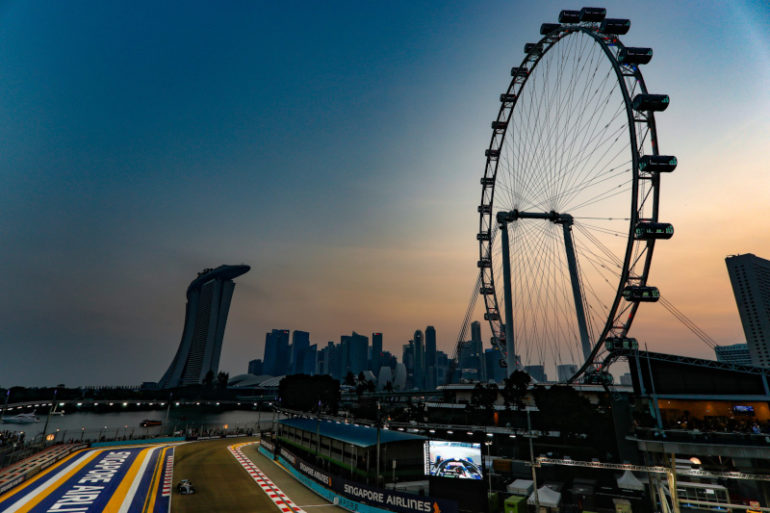 2019 Singapore Grand Prix, Saturday
