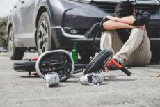 Ragazzo in stato di shock dopo incidente