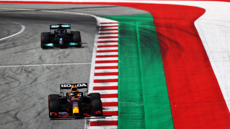 F1 GP di Stiria 2021 Pole Verstappen
