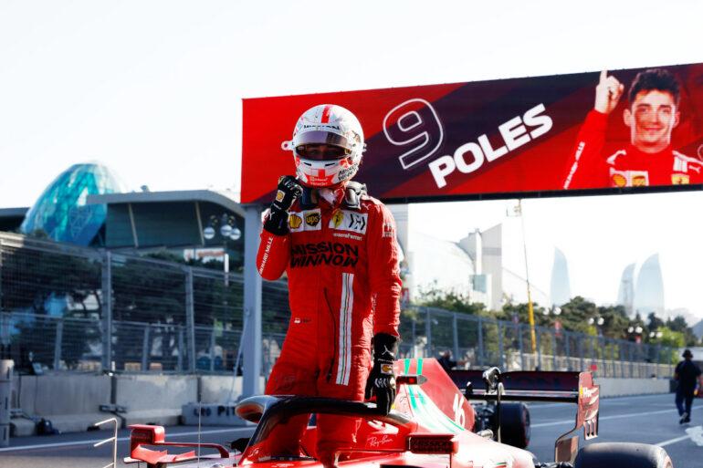 GP Azerbaigian 2021 Leclerc Pole