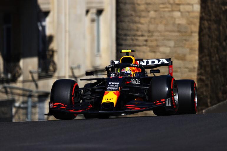 Gp d'Azerbaigian Red Bull Perez Baku 2021
