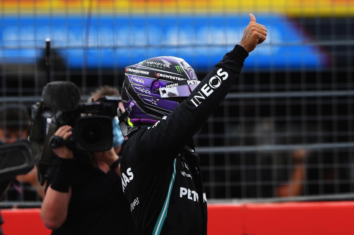 GP Francia Qualifica 2021 Hamilton