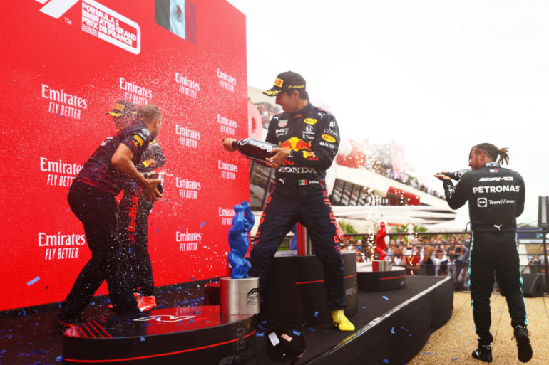 GP di Francia 2021 podio