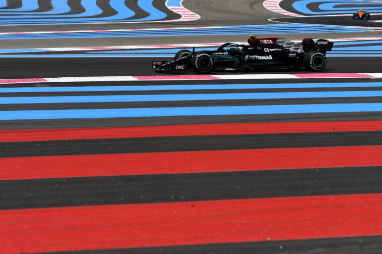 GP Francia Prove Libere 1 Bottas Mercedes