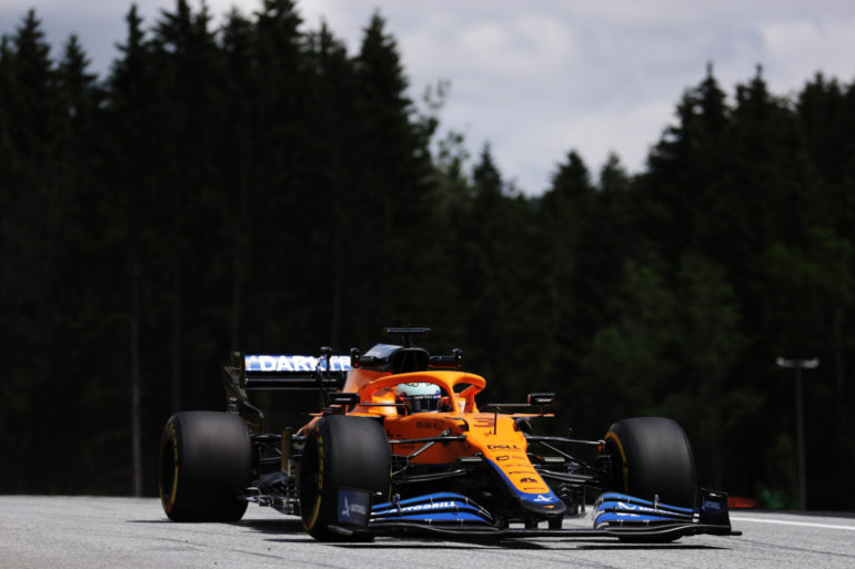 GP di Stiria F1 2021 Ricciardo McLaren