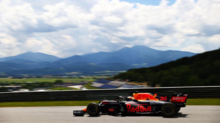 F1 GP di Stiria F1 Max Verstappen