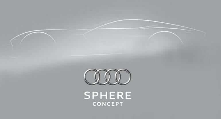 Audi Sphere concepts